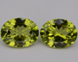 Natural Green Peridot  4.70 Cts, Top Quality Gemstone