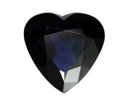 2.39cts Natural Australian Blue Sapphire Heart  Shape