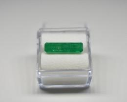 3.51 Carats Bright Green AFGHAN (Panjshir) Emerald!