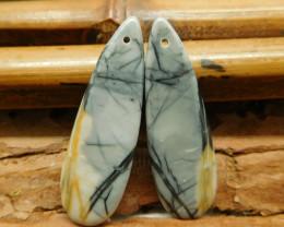 Picasso jasper earrings (G2899)