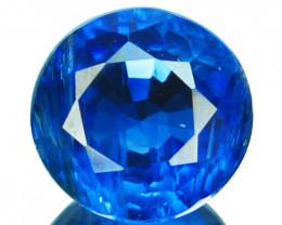 1.76 Cts Natural Royal Blue Kyanite 7mm Round Cut Nepal