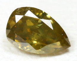 Chanpagne Diamond 0.14Ct Untreated Genuine Fancy Diamond ST652