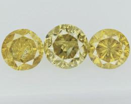 0.63cts , Round Brilliant Cut Diamonds