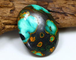 Turquoise 17.01Ct Natural Red Mountain Turquoise Cabochon ST733