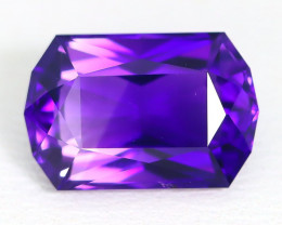 Amethyst 3.14Ct VVS Master Cut Natural Uruguay Violet Amethyst ST693