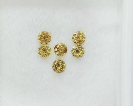 0.40cts , Round Brilliant Cut Diamonds