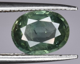 1.325 CTS Unheated Green Sapphire Gem