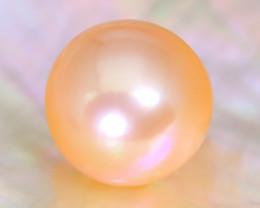 12.5mm 13.92Ct Natural Australian South Sea Orange Color Pearl A2132