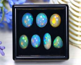 Welo Opal 10.20Ct Natural Ethiopian Rainbow Flash Welo Opal Lot A2137