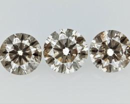 0.49cts , Round Brilliant Cut Diamonds