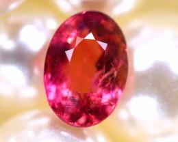 Tourmaline 1.24Ct Natural Pink Color Tourmaline D2407/B49