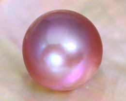 13.2mm 15.96Ct Natural Tahitian Purple Black Pearl C2102
