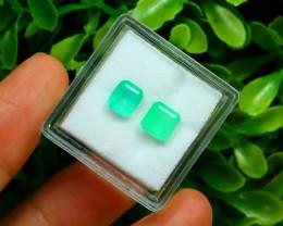 Muzo 1.63Ct Natural Colombian Vivid Green Color Muzo Emerald C2118