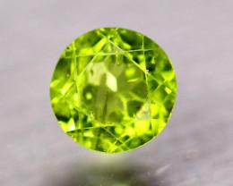3.05Ct Natural Green Peridot Round Cut Lot LZ9169