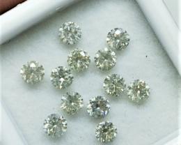 1.60cts , Round Brilliant Cut Diamonds