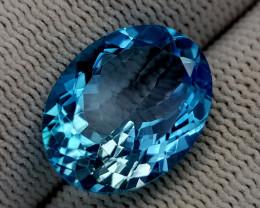 11.65CT BLUE TOPAZ BEST QUALITY GEMSTONE IIGC92