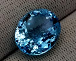 15.28CT BLUE TOPAZ BEST QUALITY GEMSTONE IIGC92