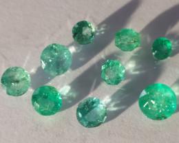 9 Emerald Lot - 4.15cts - Brazil