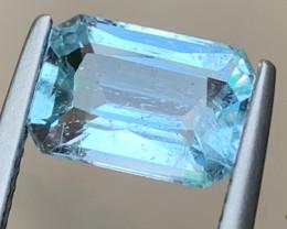 Calming Blue 2.63 carats Natural Aquamarine Gemstone