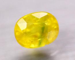3.24Ct Natural Yellow Sapphire Oval Cut Lot B4145