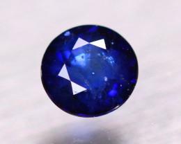 1.29ct Natural Ceylon Blue Sapphire Round Cut Lot B4158