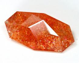 Sunstone 10.48Ct Master Cut Natural Orange Color Sunstone B2209