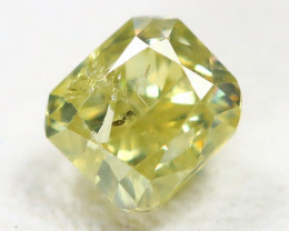 Yellow Diamond 0.28Ct Natural Untreated Genuine Fancy Diamond B2215