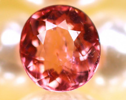 Tourmaline 1.25Ct Natural Pinkish Orange Color Tourmaline E2509/B49