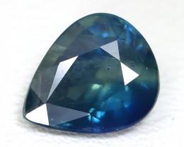 Sapphire 1.54Ct Pear Cut Natural Australian Parti Sapphire ST948
