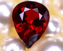 Almandine 2.87Ct Natural Vivid Blood Red Almandine Garnet  D2602/B26