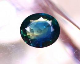 Unheated Sapphire 0.80Ct Natural Blue Sapphire D2606/B9