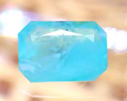 Paraiba Opal 1.54Ct Natural Peruvian Paraiba Blue Color Opal D2623/A2
