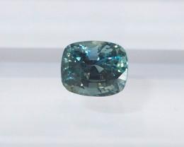 0.97ct Unheated Greenish Blue Sapphire