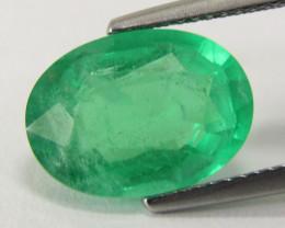 5.30Cts Genuine Amazing Ethiopian Emerald  Oval Cut Loose Gemstone