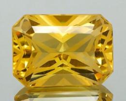 * $15NR* Golden Yellow Beryl Octagon Fantasy Cut  6.28Ct.