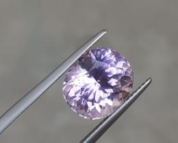 Certified ~NO RESERVE~5.95 Carats Natural Kunzite Nice Cut Gemstone
