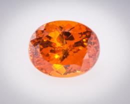 Garnet Spessartite 1.73 ct Namibia GPC
