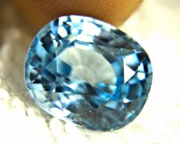 6.17 Carat Light Blue VVS Zircon - Gorgeous