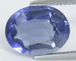 4.81Cts Amazing Natural Unheated Iolite Oval Shape Loose Gemstone REF VIDEO