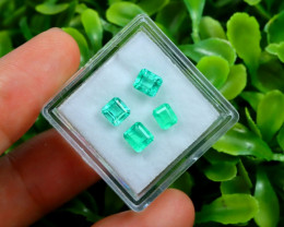 Muzo 1.67Ct Natural Colombian Emerald Neon Green Mint Beryl C2311