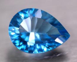 10.93Ct Natural Blue Topaz Laser Oval Cut Lot LZ9180