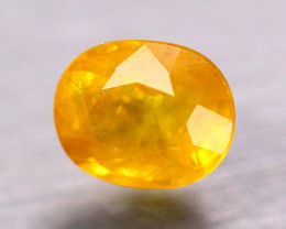 2.81Ct Natural Yellow Sapphire Oval Cut Lot LZ9190
