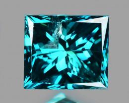 Blue Diamond 0.18 Cts Sparkling Natural Fancy  Vivid Blue  Diamond