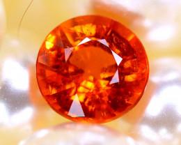 Spessartite Garnet 1.20Ct Natural Orange Spessartite Garnet  E2703/B34