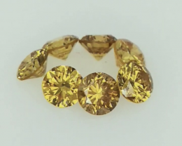 0.53cts , Round Brilliant Cut Diamonds