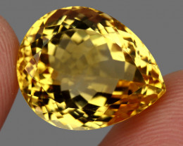 20.68  ct. 100% Natural Unheated Top Quality Yellow Golden Citrine Brazil