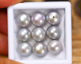 48.02Ct Natural Fresh Water Pearl Cultured Drill Lot V8183