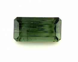 ~NR~9.56(ct)Olive Green Color Congo Tourmaline Faceted Gem