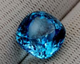 14.35CT BLUE TOPAZ BEST QUALITY GEMSTONE IIGC93