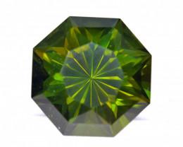 No Treat&NoHeat 92.74Ct Green Apatite Precision Cut Gemstone